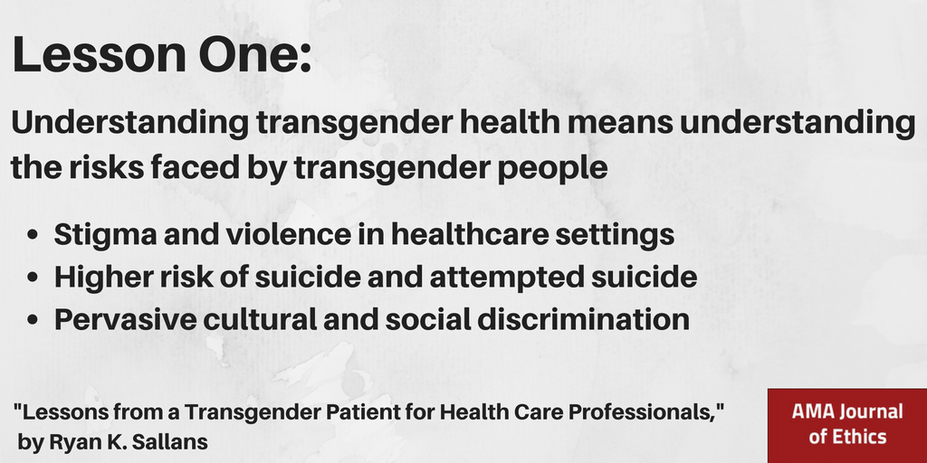 Transgender Healthcare Article