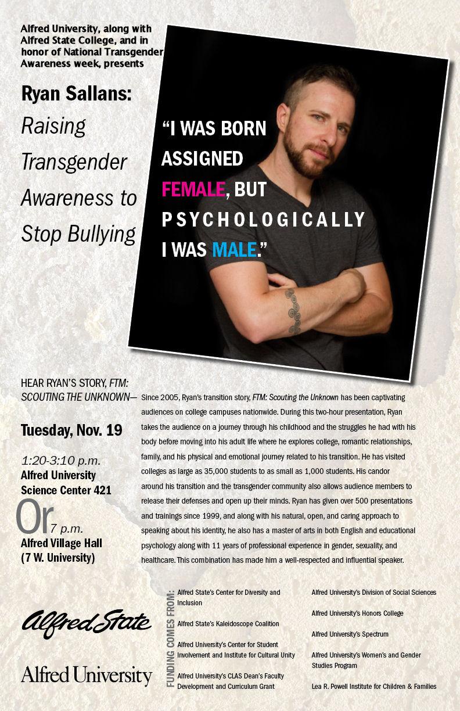 Transgender College Speakers