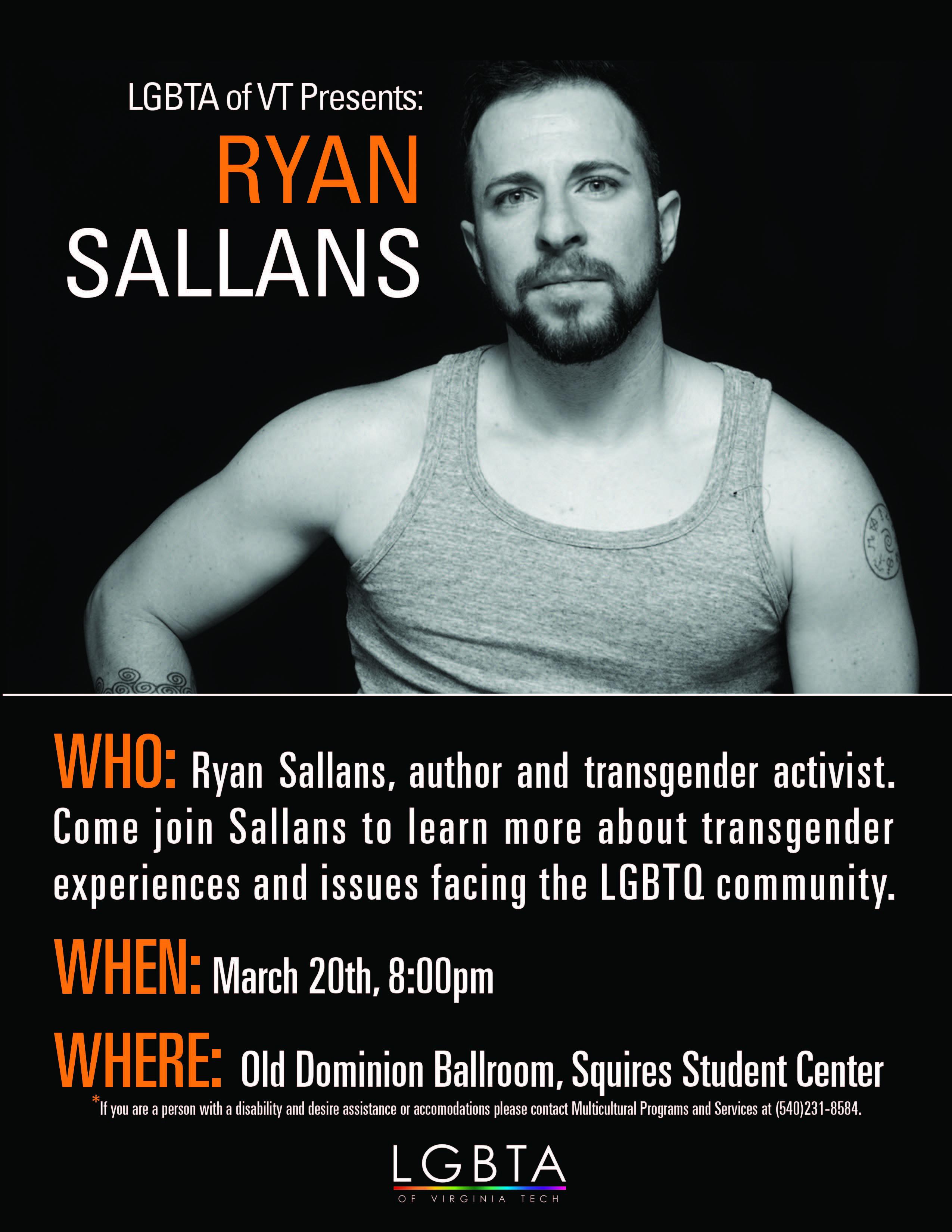 Transgender college speaker