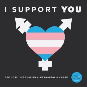 Transgender Support Symbol