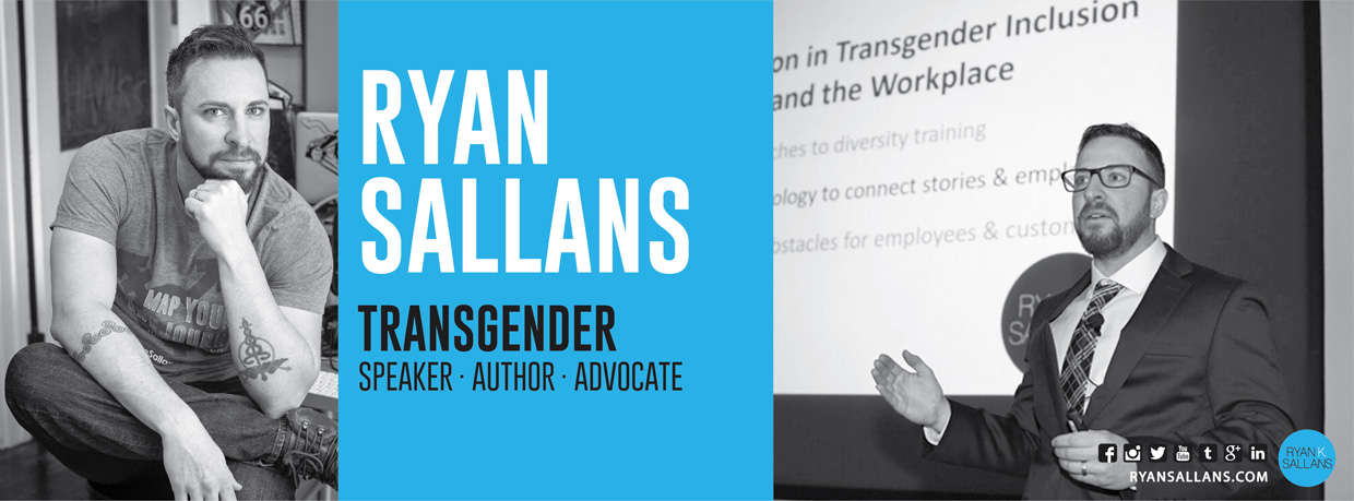 Transgender Speaker | Ryan Sallans