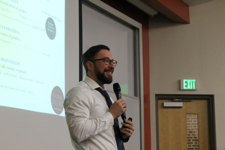 Ryan Sallans Inspirational LGBTQ Speaker and Author on Self Confidence