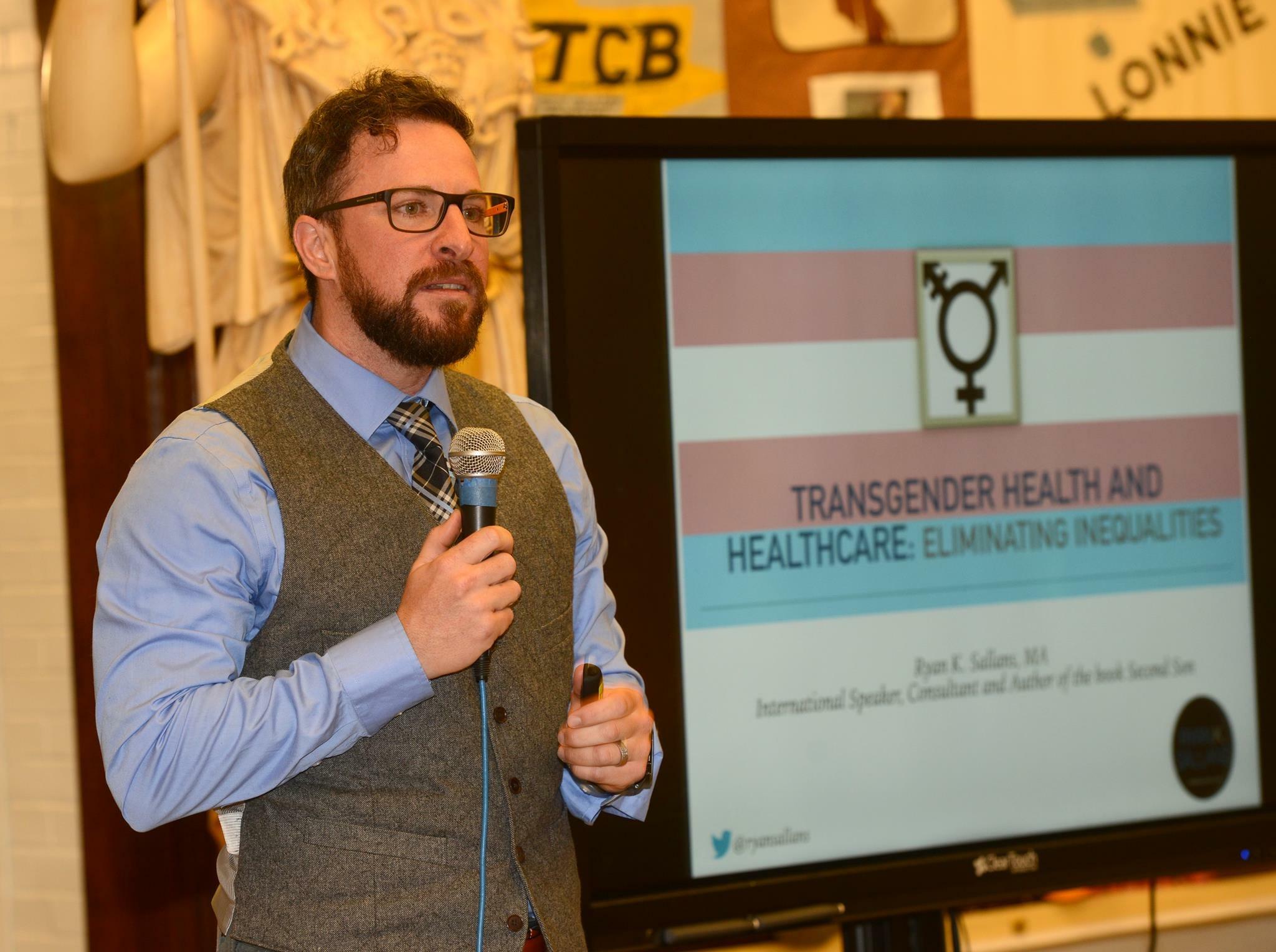 Ryan Sallans Transgender Healthcare Speaker