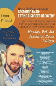 Ryan Sallans Eating Disorder Speaker