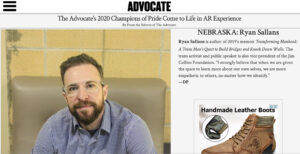Ryan Sallans Advocate